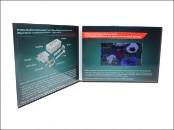 Plaquette vidéo écran LCD 4,3 ou 5 pouces Haute Définition