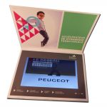 Plaquette video format A4 ecran LCD 10
